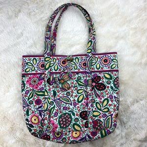 Vera Bradley Floral Tote Bag